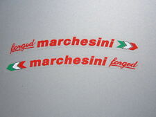 DUCATI 916 996 998 999 1098 1199 Hypermotard Marchesini Forged Sticker Rouge