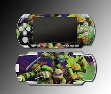Teenage Mutant Ninja Turtles TMNT Cartoon Video Game SKIN Cover Sony PSP 1000