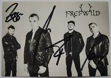Frei Wild AK Opposition Arena Tour 2015 Autogrammkarte original signiert