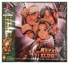Metal Slug X Ps1 Brand New Japan