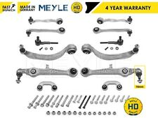 FOR SEAT EXEO ST 2008- FRONT SUSPENSION CONTROL ARM ARMS LINKS RODS MEYLE HD KIT