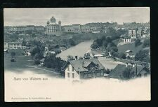 Switzerland BERN von Wabern aus General view 1904 u/b PPC by Oesch-Muller