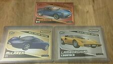 TOPPS TOP GEAR TURBO ATTAX ALL 3 LE2 GOLD SILVER AND BRONZE LIMITED EDITIONS