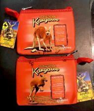 12 X Australian Souvenir Coin Money Case Pouch Bag Big Red Kangaroo Out Back