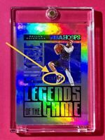 Luka Doncic SILVER HOLO FUTURE LEGENDS OF THE GAME SERIAL 119/199 NBA HOOPS Mint