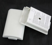 White New Replace Battery Pack Back Cover Case For Xbox 360 Wireless Controller