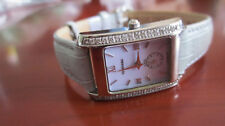 Ladies Tourneau Diamond Bezeled Watch, Model A4261/S-LAV