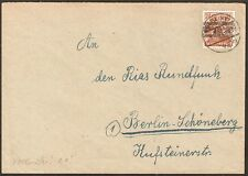 1375 GERMANY COVER 1948 LOCAL POST BERLIN #3