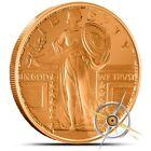 1 oz Copper Round - Standing Liberty