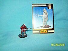 WotC Star Wars Miniatures Utapaun Soldier, RotS 52/60, Fringe, Common