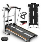 Folding Treadmill Running Machine Walking Jogging Cardio Home Gym Fitness Black