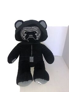 Star Wars Kylo Ren Force Awakens Build a Bear Black Teddy Plush 17in