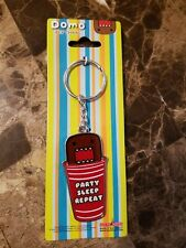 Domo Party Sleep Repeat Red Solo Beer Pong Key Chain Buy 1 Get 2 Domo Item FREE