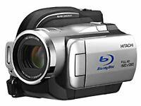 """Hitachi Bd + Hdd Video Camera """"Blu-Ray Cam Wooo"""" Dz-Bd10H camcorder"""