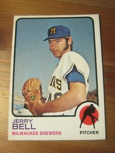 1973 OPC O Pee Chee # 92 Jerry Bell - Milwaukee Brewers                      ZB0