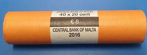 20 cent Rolle Malta 2016