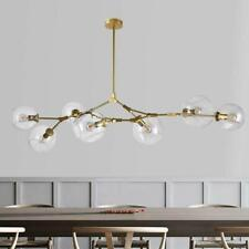 7-Lights Molecular Nordic Glass LED Ceiling Lamp Modern Chandelier Pendant Light
