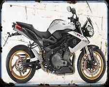 BENELLI Tornado Tre 1130 13 A4 Metal Sign moto antigua añejada De