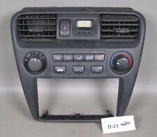 98 99 00 01 02 Honda Accord Climate Heater Control Dash Bezel AC Radio Clock OEM