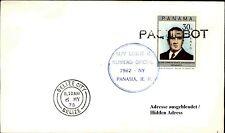 Paquebot BELIZE CITY Schiff Ship MV LESLIE auf Brief m. PANAMA Briefmarke Stamp