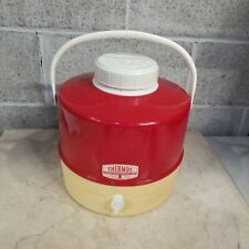 Vintage Thermos Brand 2 Gallon Insulated Water Cooler Jug with Spout Mint!