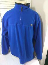 Counter Culture, 1/4 Zip, Pullover, Blue, Size Large, Comfort Fleece Jacket