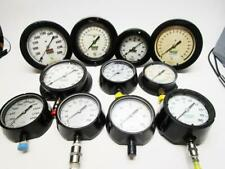 Lot Of 11 Ashcroft Assorted Psi Gauge Steampunk