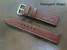 Breguet Marine leather watch strap band custom made strap size Cheergiant straps