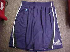 TCU Horned Frogs Basketball Player #5 Purple Game Worn Shorts Nike Size Small