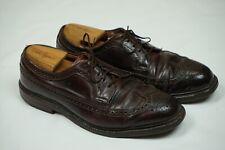 Alden Men's 975 - Long Wing Blucher - Color 8 Shell Cordovan Dress Shoes 9.5 C/E