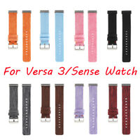 For Fitbit Versa3/Sense Watch Band Nylon Smart Watch Strap Replacement Wristband