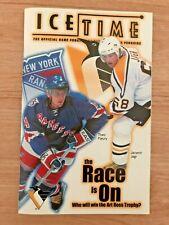 ~ICETIME~Pittsburgh Penguins vs. New York Rangers~Volume 5, Number 32~ FEB 2001