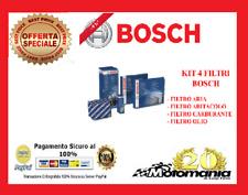 KIT4 FILTRI TAGLIANDO BOSCH MERCEDES CLASSE A 180 CDI W169 80 KW 109 CV