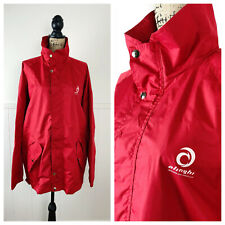 Alinghi Academy Lightweight Sailing Jacket in Bright Red