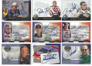 2000 UD MVP PRO SIGN AUTOGRAPH #PS-DJ Dale Jarrett SWEET/SCARCE!--ONE CARD ONLY!