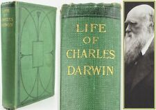 LIFE OF CHARLES DARWIN*1892*JOHN MURRAY EDITION*BIOGRAPHY/LETTERS**UNRECORDED**