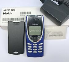 NOKIA 8210 NSM-3NX GSM HANDY UNLOCKED MOBILE PHONE INFRAROT WAP BLAU NEU NEW BOX