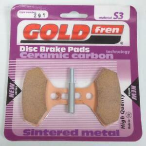 Plaquette de frein Gold Fren pour quad CAN-AM 450 DS X 2x4 Efi 2008 à 2009 AVG/