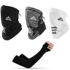 Golovejoy Ice Silk Magic Scarf + Ice Sleeve Sport Cycling Antisweat Headband