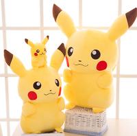 "2019 New Pokemon Center Stuffed Doll Anime Pikachu Soft Plush Toy Gift 20cm/8"""