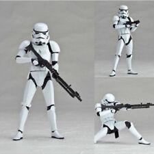 "Star Wars Sci-fi Kaiyodo Revo Revoltech Stormtrooper 6"" Action Figure Doll"