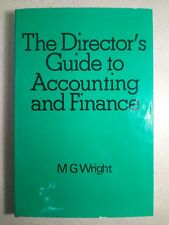 The Director's Guide to Accounting and Finance - Wright - Hardcover - Business