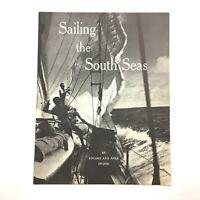 Vintage Sailing the South Seas Booklet Eduard Nina Ingris Polynesia Tahiti Book