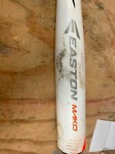 """Easton Mako BB15MK BBCOR.50 Baseball Bat 2 5/8"""" White/Orange/Gray 2015 32/29"""