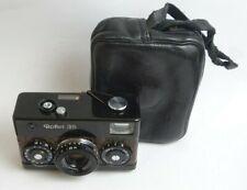 Rollei 35 camera 3.5/40 Tessar Croco leather Hertie