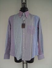CAMICIA   D A R   IN  COTONE  TIPO PATCHWORK  COLLO   N 40