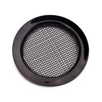 2Pcs 6cm Dia Dobro Resonator Screen Guitar Sound Hole Insert Set Grill Black
