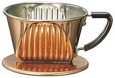 Kalita copper coffee dripper 101-Cu 1-2 persons 04005