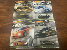 2020 Hot Wheels Fast and Furious Fast Tuners LOT OF 4 S15 S14 240sx RX7 WRX STI