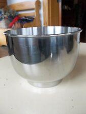 "Sunbeam Stainless Steel 5"" Tall 6"" Diameter Mixing Bowl"